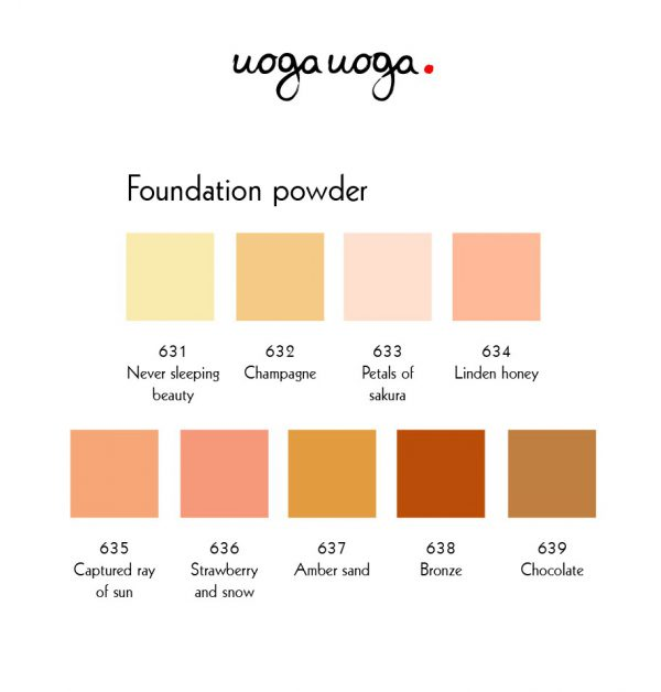 uoga-uoga-mineral-foundation-kleurkaart