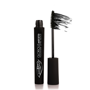 purobio mascara black glorious volumising