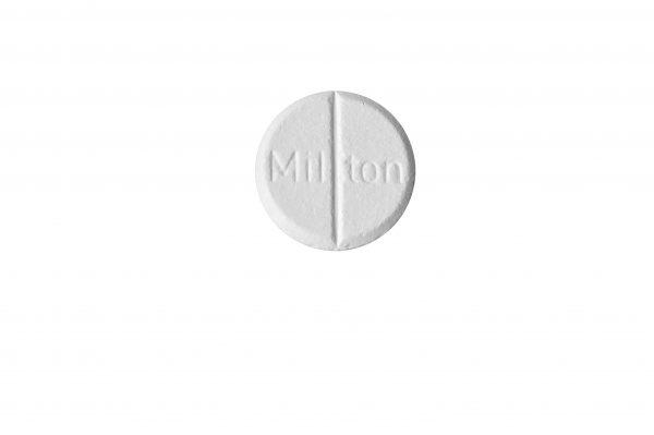tablet milton sterilistatie