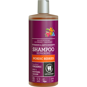 urtekram nordic berries shampoo