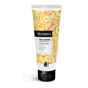 bio happy fruit cocktail showergel