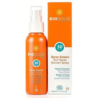 biosolis sunspray spf 30